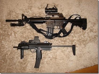 M727 と MP7A1
